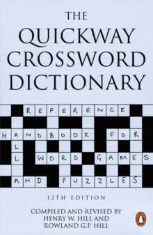 The Quickway Crossword Dictionary, Paperback Book