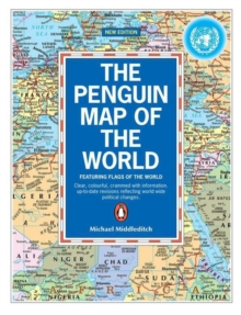 The Penguin Map of the World, Paperback Book