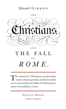 The Christians and the Fall of Rome, Paperback Book