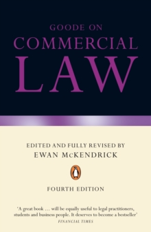 Goode on Commercial Law : Fourth Edition, Paperback / softback Book