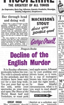 Decline of the English Murder, Paperback Book