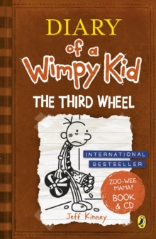 Diary of a Wimpy Kid: The Third Wheel book & CD, Mixed media product Book