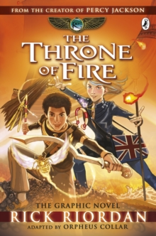 The Throne of Fire: The Graphic Novel (The Kane Chronicles Book 2), Paperback Book