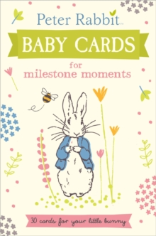 Peter Rabbit Baby Cards: For Milestone Moments, Hardback Book