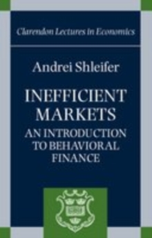 Inefficient Markets : An Introduction to Behavioural Finance, EPUB eBook