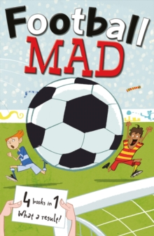 Football Mad 4-in-1, Paperback Book
