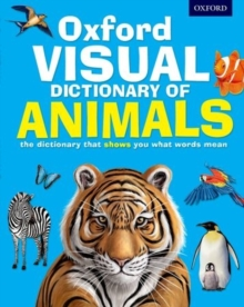 Oxford Visual Dictionary of Animals, Paperback Book
