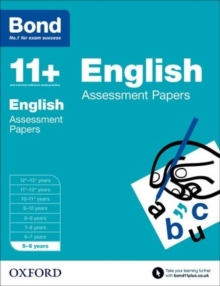 Bond 11+: English: Assessment Papers : 5-6 Years, Paperback Book