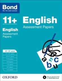 Bond 11+: English: Assessment Papers : 12+-13+ years, Paperback Book
