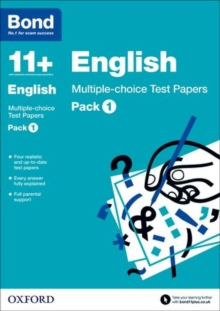 Bond 11+: English: Multiple-Choice Test Papers : Pack 1, Paperback Book