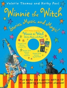 Winnie the Witch: Stories, Music, and Magic! with audio CD, Mixed media product Book