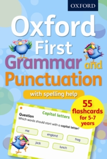 Oxford First Grammar and Punctuation Flashcards, Cards Book