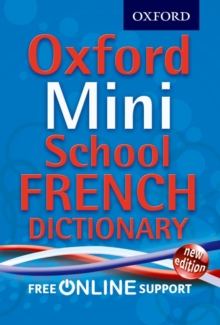 Oxford Mini School French Dictionary, Mixed media product Book