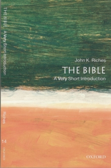 The Bible: A Very Short Introduction, Paperback Book