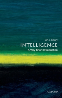 Intelligence: A Very Short Introduction, Paperback Book
