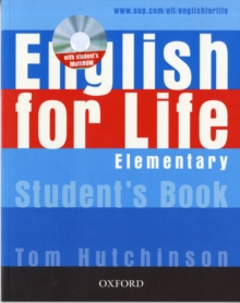 English for Life: Elementary: Student's Book with MultiROM Pack : General English Four-skills Course for Adults, Mixed media product Book