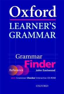 Oxford Learner's Grammar:: Grammar Finder : With Grammar Checker Interactive CD-ROM, Mixed media product Book