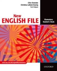 New English File: Elementary: Student's Book : Six-level general English course for adults, Paperback / softback Book