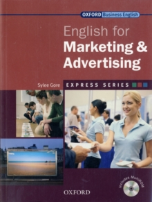 Express Series: English for Marketing and Advertising, Mixed media product Book