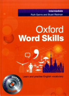 Oxford Word Skills: Intermediate: Student's Pack (Book and CD-ROM), Mixed media product Book