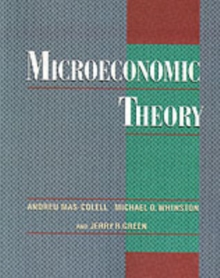 Microeconomic Theory, Paperback Book