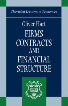 Firms, Contracts, and Financial Structure, Paperback Book
