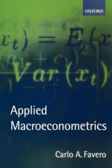 Applied Macroeconometrics, Paperback Book