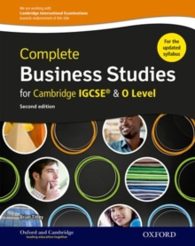 Complete Business Studies for Cambridge IGCSE and O Level, Mixed media product Book