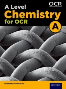 A Level Chemistry A for OCR Student Book, Paperback Book