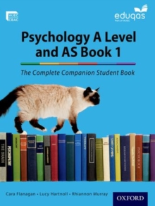 The Complete Companions for Eduqas Year 1 and AS Psychology Student Book, Paperback Book