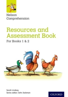 Nelson Comprehension: Years 1 & 2/Primary 2 & 3: Resources and Assessment Book for Books 1 & 2, Paperback / softback Book