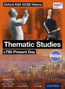 Oxford AQA History for GCSE: Thematic Studies C790-Present Day : (Britain: Health, Power, and Migration, Empires and the People), Paperback Book