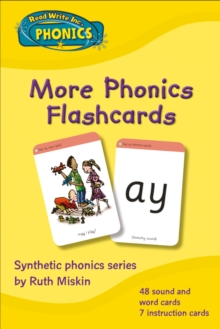 Read Write Inc. Phonics: More Phonics Flashcards, Cards Book