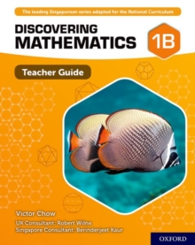 Discovering Mathematics: Teacher Guide 1B, Mixed media product Book