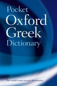 The Pocket Oxford Greek Dictionary, Paperback Book