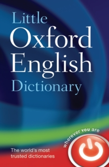 Little Oxford English Dictionary, Hardback Book