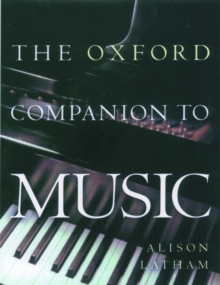 The Oxford Companion to Music, Hardback Book