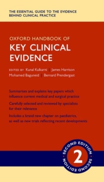 Oxford Handbook of Key Clinical Evidence, Paperback / softback Book