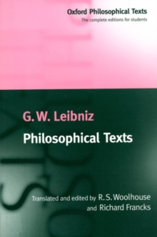 Philosophical Texts, Paperback Book