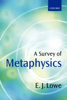 A Survey of Metaphysics, Paperback Book