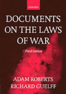 Documents on the Laws of War, Paperback Book