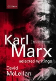Karl Marx: Selected Writings, Paperback Book