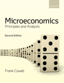 Microeconomics : Principles and Analysis, Paperback / softback Book