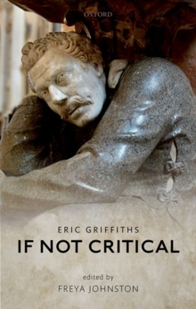 If Not Critical, Hardback Book