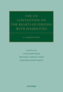 The UN Convention on the Rights of Persons with Disabilities : A Commentary, Hardback Book