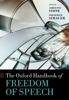 The Oxford Handbook of Freedom of Speech