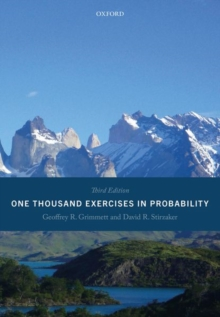 One Thousand Exercises in Probability : Third Edition, Paperback / softback Book