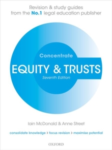 Equity & Trusts Concentrate : Law Revision and Study Guide