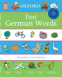 Oxford First German Words, Paperback Book