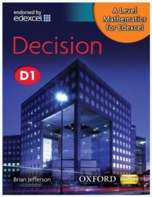A Level Mathematics for Edexcel: Decision D1, Paperback Book